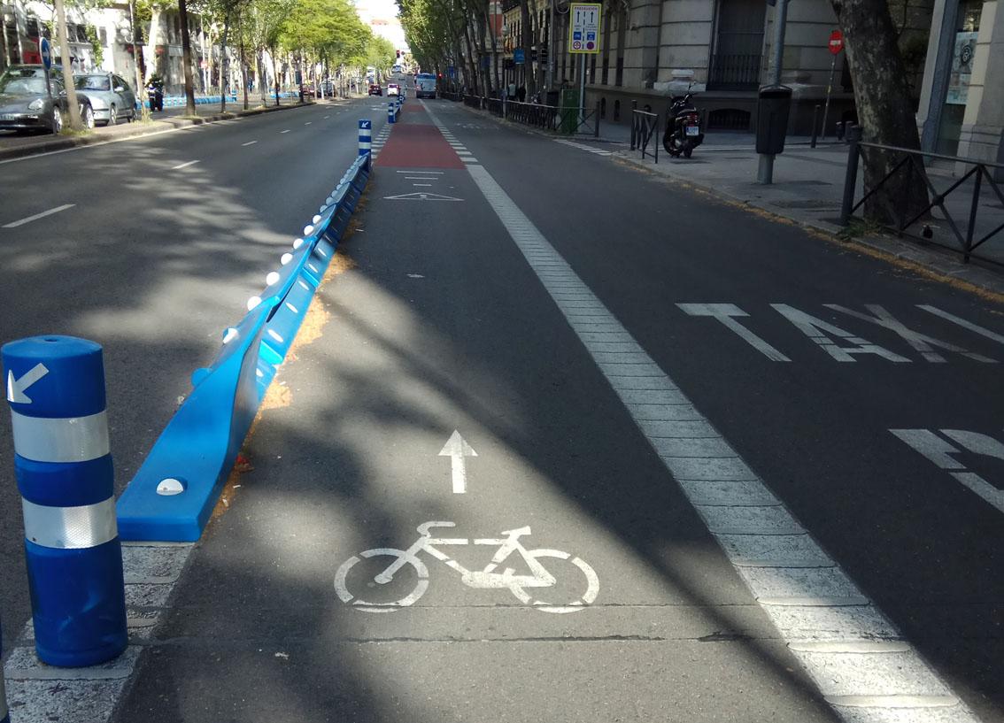 Carril bici Bulevares